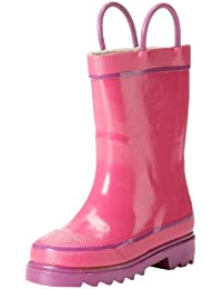 Western Chief Kids Unisex Solid Waterproof Rain Boot