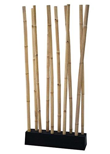 *LioLiving®, Raumteiler aus Bambus (natur) – über 2 Meter hoch! (#400037)*