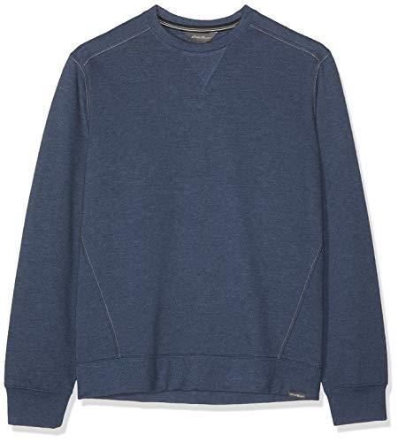 34a36e5287318 Eddie Bauer Camp Fleece Sweat-Shirt Bleu (Indigo Meliert 005) XX-Large
