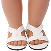 YUYOUG Doll Shoes Lovely Sandals Shoes Fits 18 Inch Our Generation American Girl Doll Accessory Girls' Toy New