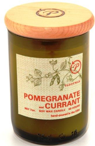 Paddywax Eco Green Sojawachs mit 230ml recyceltem Glas Füllen, mediterrane Rosmarin und Citrus, Olive/Tan, 227 g (Olive Green Gläser)