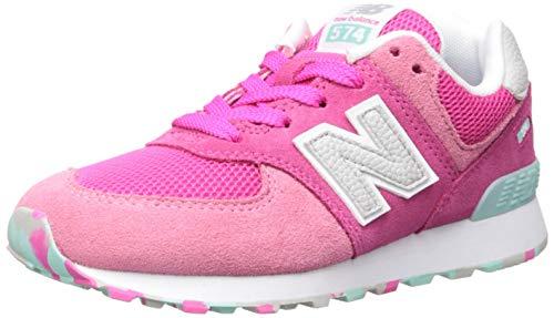 New Balance GC574-M Sneaker Kinder hellgrau/weiß, 4.5 US - 37 EU - 4 UK