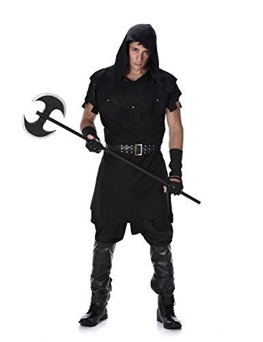 elalter Henker Halloweenkostüm schwarz L (Henker Kostüm Kostüm)