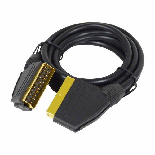 Status s2mgpscart1pk6S2MGPSCART1PK6Scart-Anschluss-Kabel, 7mm Außendurchmesser, OD x 2m Länge, 21Pins Scart-Anschluss Kabel, vergoldet,