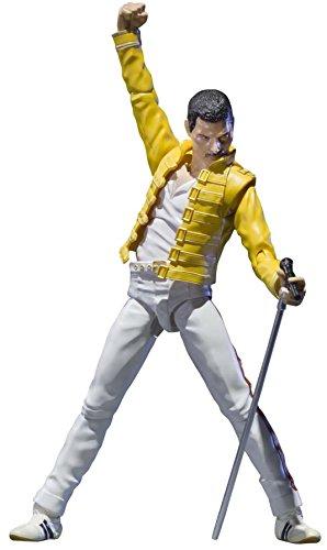 Bandai- Figuarts Queen Freddie Mercury Figurine, 4549660038269, Multicolore, 15,2cm