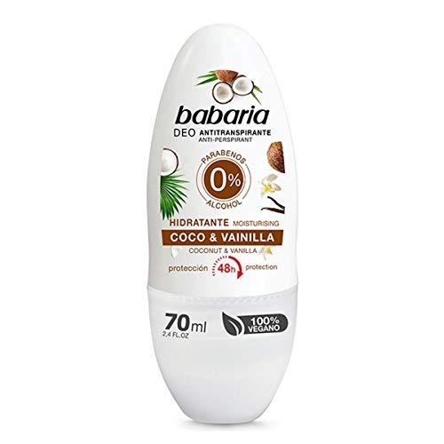 Babaria coco & vainilla desodorante roll-on 70ml