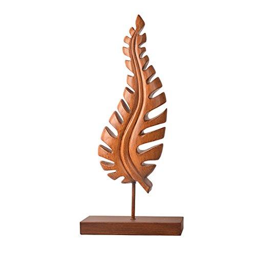 k, kreative blattförmige Dekoration, Büro Schlafzimmer Schreibtisch Handwerk Geschenk 20 * 47 * 8,5 cm / 60 * 11 * 26,5 cm (Size : B) ()