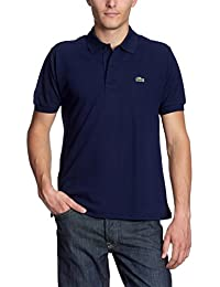 Lacoste L1212  - 00 - Polo Homme  Bleu (Marine)-Medium (Taille Fabricant : 4)