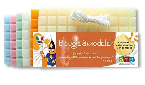 Cera 050 da modellare, 1 g, 6 colori Pastelles