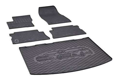 Passgenaue Kofferraumwanne und Gummifußmatten geeignet für Ford Kuga ab 2013