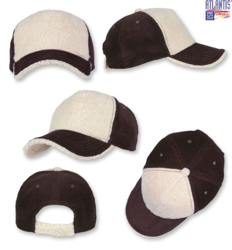 FORESTER MARRONE-NATURAL POLAR FLEECE E VELLUTO CAPPELLO