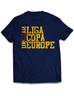 Hombres de Barcelona 3triplete sueño camiseta