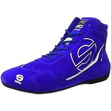 Sparco 00123536AZ Zapatillas para Racing Azul 36