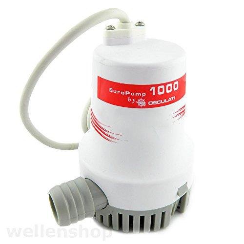 24 V Bilgepumpe 3850 l/h für Boote