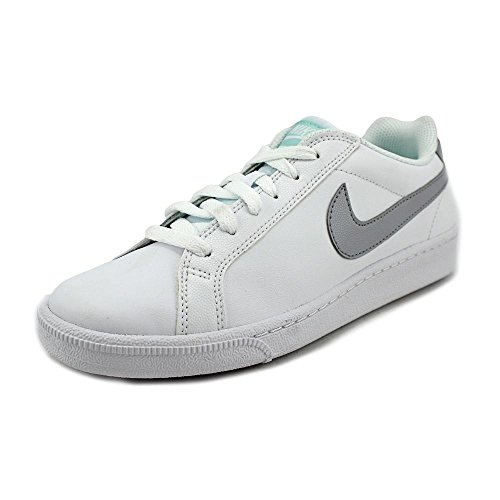 Nike Wmns Court Majestic, Scarpe sportive Donna Bianco (White / Wolf Grey-Artisan Teal) (grigio, foglia di tè)