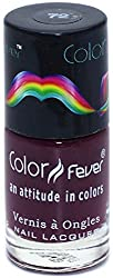 Color Fever Absolute Matt Nail lacquer - Matt Dark Maroon. 0.30 Ounce