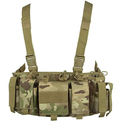 VIPER SPECIAL OPS CHEST RIG HARNESS WITH MAGAZINE POUCHES AIRSOFT