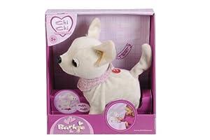 Simba 105898773 - Perrito de peluche ChiChi Love Barki con funciones (20 cm) importado de Alemania