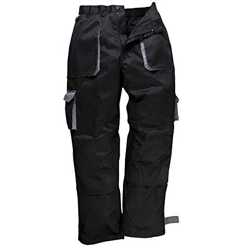 Pantalon de travail TEXO Longueur de jambe 79 cm Black