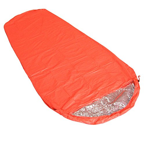 WINOMO Attività all\'aperto mummia Campeggio alpinismo riflessione termica sacco a pelo campo attrezzature pic-nic coperta di sopravvivenza