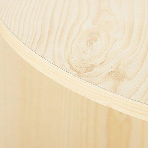 Estantería, estantería, tablero de aglomeración de color blanco de arce tres capas cuatro capas gabinete ( Tamaño : 24*24*106cm )