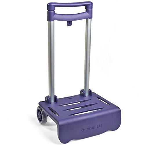 Carro lila para mochilas Busquest