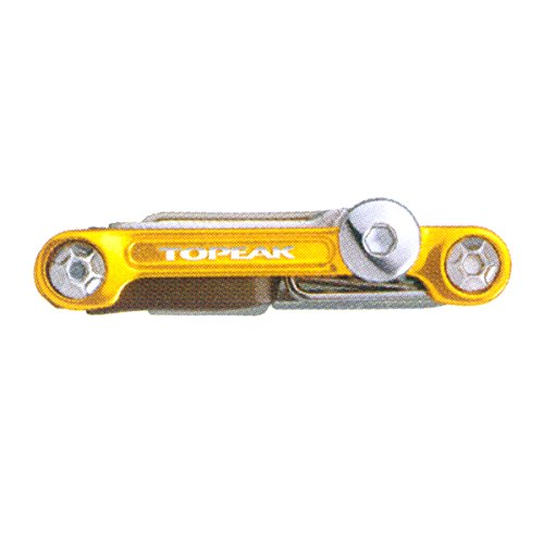 Topeak Faltwerkzeug Mini Pro, Gold 20 Tools, TT2536GD 20 Werkzeuge