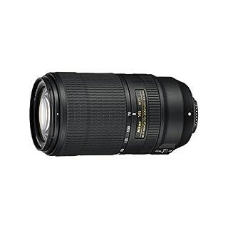 Nikon AF-P Nikkor 70-300mm 1:4.5-5.6E ED VR Objektiv (62 mm Filtergewinde) für Nikon-F-Bajonett schwarz