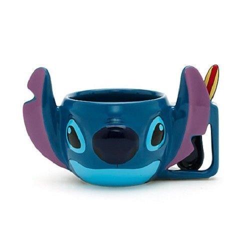 Disney Lilo y Stitch - Stitch Taza con Cuchara, cerámica