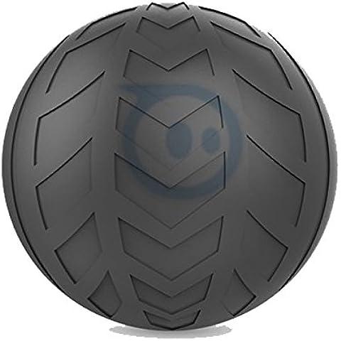 Sphero Copertura Turbo in Gomma Liscia per Sphero 2.0 e Sphero Edizione SPRK, Nero - Nero Gomma Di Ricambio Di Copertura