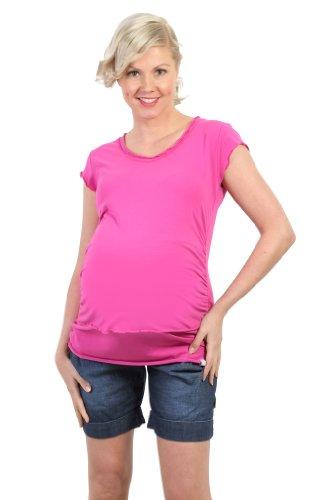 Be! mama T-Shirt d'allaitement, de Grossesse T-Shirt, 2 Couleurs, modèle : BLY - -
