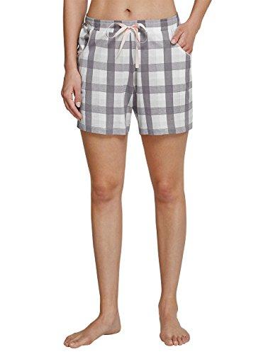 Schiesser Damen Mix & Relax Jerseyhose kurz Schlafanzughose, Gelb (Apricot 603), 38 -
