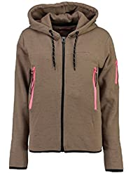 Geographical Norway Sudadera con Cierre Fashionista Topo XL (FR 4)
