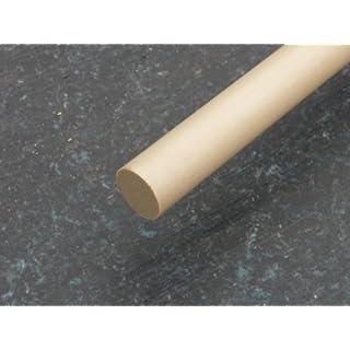 Rundstab aus PEEK natur Ø 6 mm, Lang 1000 mm Kunststoffrundstab alt-intech®