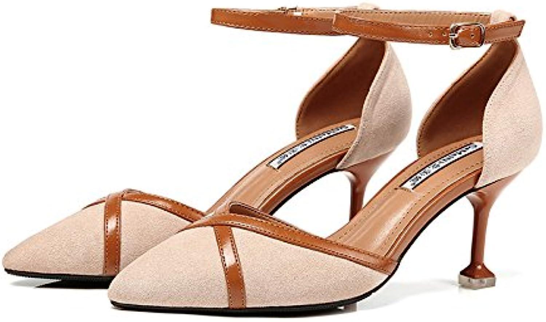 Frauen Sommer Verband Roman Schuhe Sexy Stiletto High Heels Abend Braut Pumps Damen Klassische Spitz Schuhe