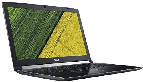 'Acer aca5175527 Laptop 17,3 NERO (Intel Core i5, 8 GB di RAM, 500 GB, HD Graphics 400, Windows 10 Pro) Tastiera AZERTY francese