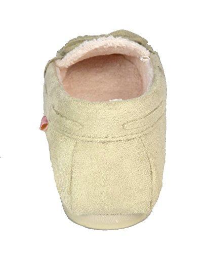 Dunlop  LS100, Chaussons pour femme beige - Beige - beige