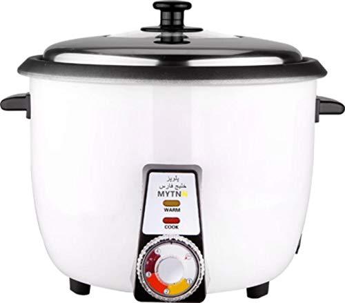 Reiskocher voll Automatisch mit Reiskruste Funktion Tahdig polopaz Rice cooker mit Warmhaltung Funktion TOP Qualität (2.8 Liter 10 bis 12 Personen)