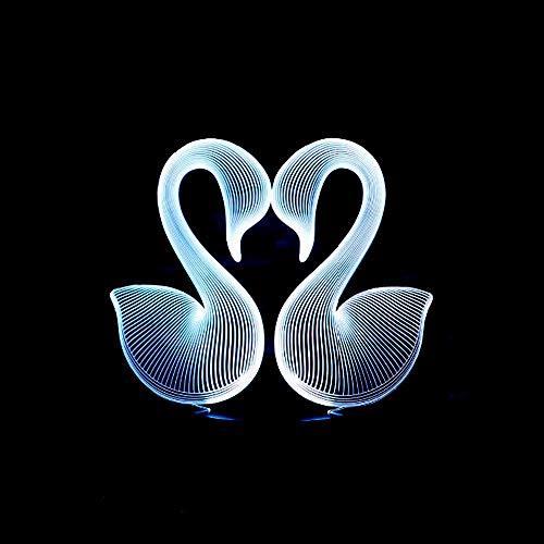 hter Led Tischlampe Spielzeug Tischlampe Atmosphäre Licht Schlaf Licht Schreibtisch Held Baby Spiel Atmosphäre Licht Geschenk Acryl Panel Illusion ()