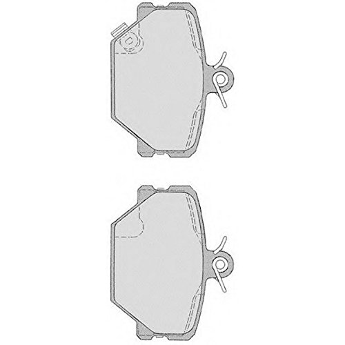 PE06820RB-6228 Kit pastiglie freno Anteriore Permafuse