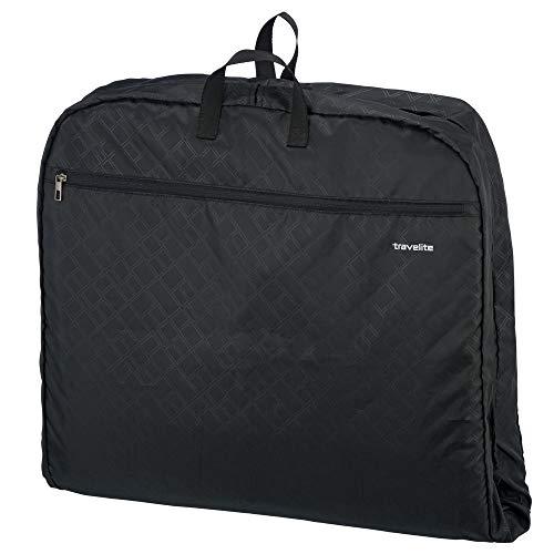 Travelite Knitterfrei reisen: Klassische Gepäck-Serie Mobile macht Sie auf Geschäftsreise mobil mit Stil Kleidertasche, 127 cm, 39 Liter, schwarz