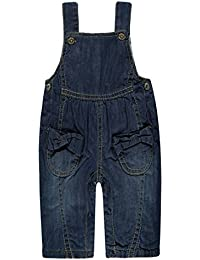 Steiff Latzhose Jeans, Salopette Bébé Fille