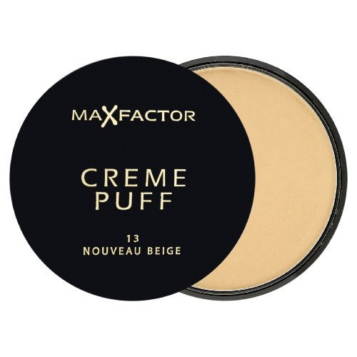Max Factor Creme Puff Powder Makeup 13 Nouveau Beige by Proctor & Gamble BEAUTY (English Manual)