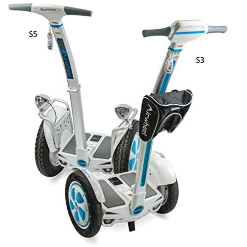 Airwheel S3, Biga Elektrische Herren, Weiß/Hellblau, 61.3x 128x 58.7cm