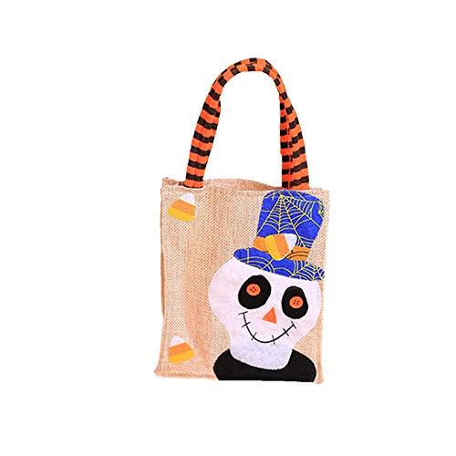 f Candy Pack Heiligabend Ferien Geschenk Tote Tasche,Skull (Candy Skull Dress Up)