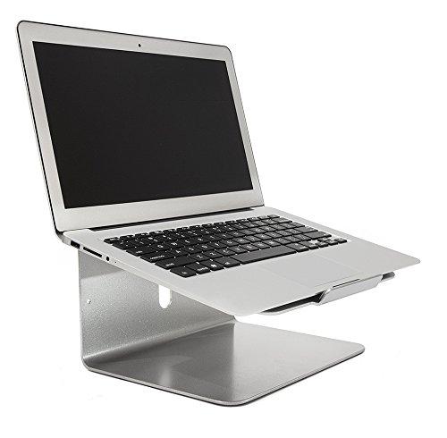 """BRAMLEY de alfombrilla de calidad aluminio soporte para portátil para Apple MacBook Pro/Air, Dell, Lenovo, HP, Fujitsu y todos los 11""""a portátiles de 15"""""""