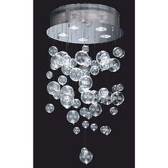 Paul Neuhaus Éléments en verre de rechange pour lustres Alano de 60 cm de diamètre
