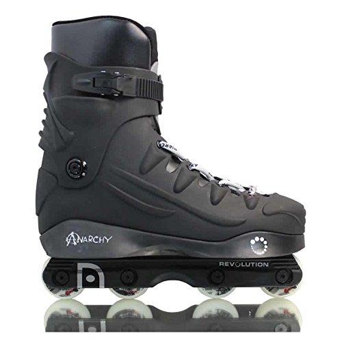 Anarchy Revolution Aggressive Skates - Black -