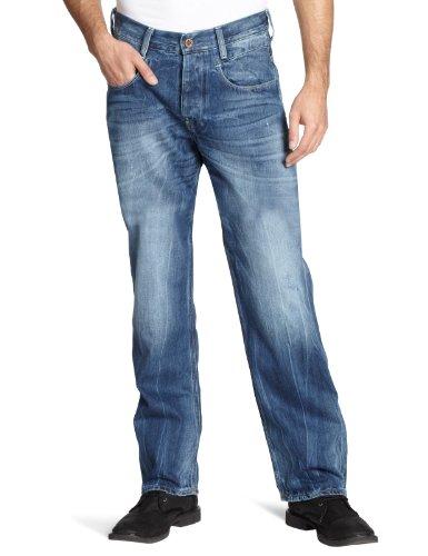 G-STAR Herren Jeans NEW RADAR LOW LOOSE rugby wash, Gr. 31/34, Blau (rugby wash 2413)