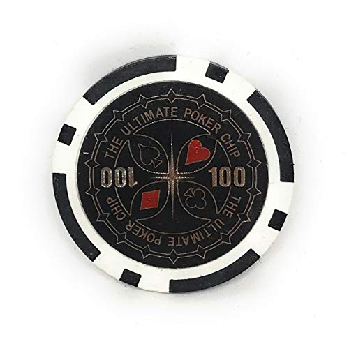 Ultimate Poker Pokerchips Laser Chips - 50 Stück (100 Wert)